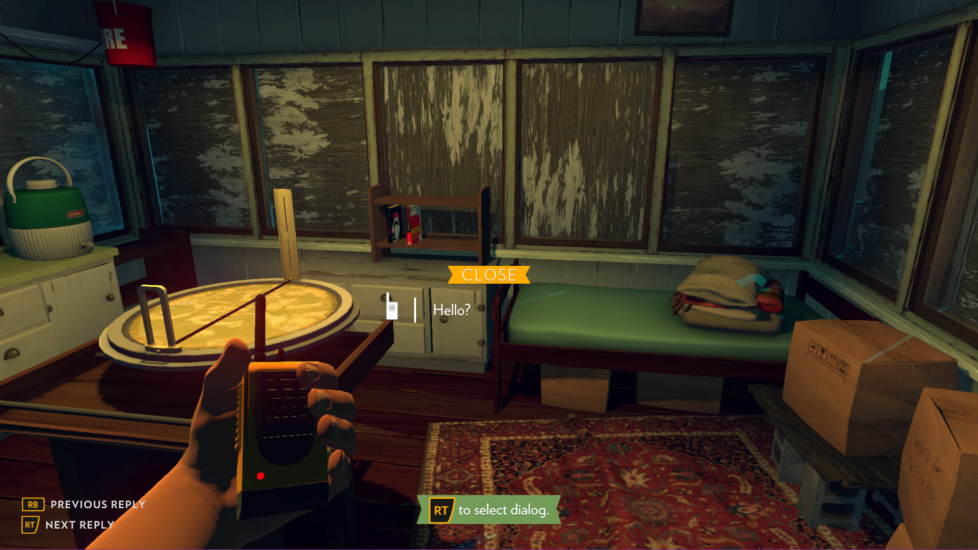 Firewatch | Good Video Game Interface Screenshots