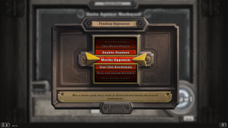 Hearthstone loading ui screenshot