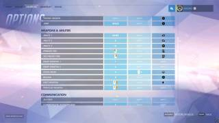 Overwatch controls ui screenshot