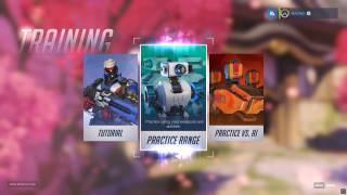 Overwatch level selection ui screenshot