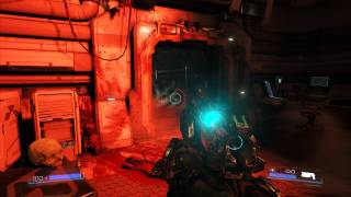 DOOM in-game ui screenshot