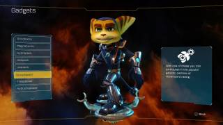 Ratchet & Clank inventory ui screenshot