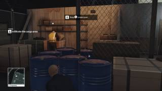 HITMAN in-game ui screenshot