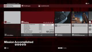 HITMAN scoreboard ui screenshot
