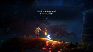 Ori and the Will of the Wisps dialogue ui screenshot