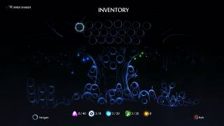Ori and the Will of the Wisps inventory ui screenshot