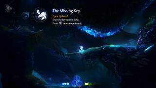 Ori and the Will of the Wisps quest ui screenshot