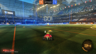 Rocket League in-game ui screenshot