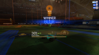 Rocket League progress ui screenshot