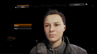 Tom Clancy's The Division main menu ui screenshot