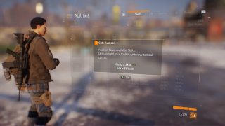 Tom Clancy's The Division skills ui screenshot