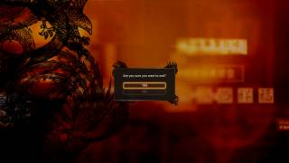 Sleeping Dogs main menu ui screenshot