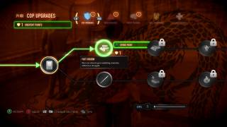 Sleeping Dogs skills ui screenshot