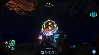 Subnautica in-game ui screenshot