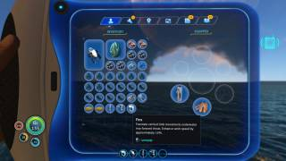 Subnautica inventory ui screenshot